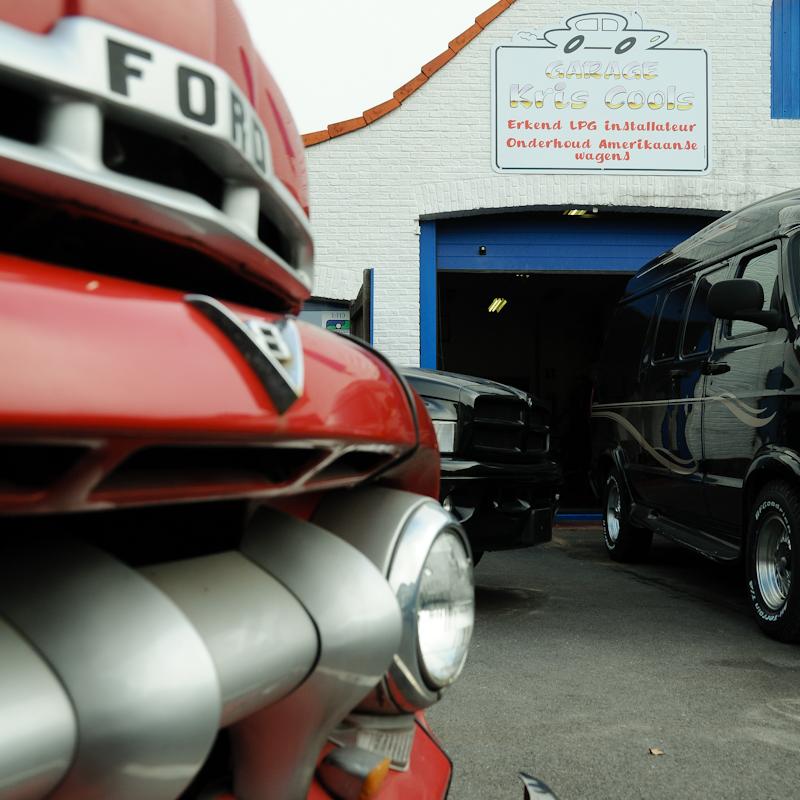 Uithangbord Garage